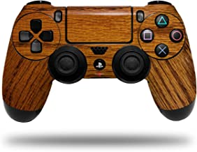 Vinyl Skin Wrap for Sony PS4 Dualshock Controller Wood Grain - Oak 01 (CONTROLLER NOT INCLUDED)
