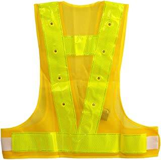 iHuniu Reflective Vest Safety Outdoor Running High Visibility Reflector Clothing Men, Women Best Jogging, Biking, Walking,...