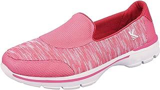 KazarMax Women's Marble & Pink Slipon's Walking Sneakers/Shoes