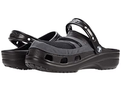 Crocs Classic Venture Pack Clog (Black/Slate Grey) Shoes