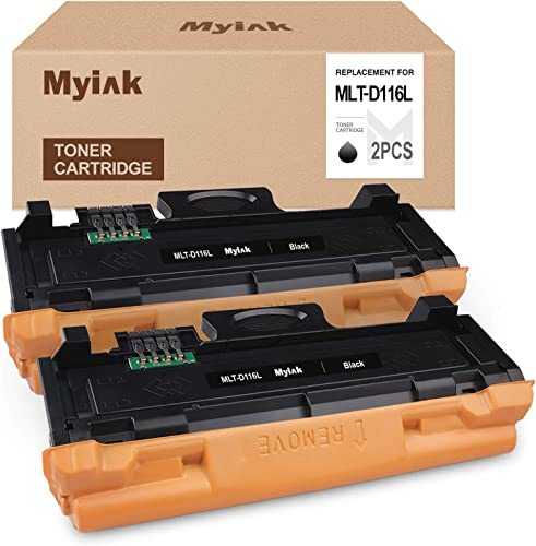 new arrival MYIK Compatible Toner Cartridge Replacement for Samsung MLT-D116L 116L D116L MLTD116L to use popular sale with Xpress SL-M2825DW SL-M2875FD SL-M2875FW SL-M2835DW SL-M2885FW SL-M2875 (Black, 2-Pack) online sale