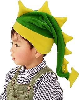 Crazy Long Plush Spike Dragon Stegosaurus Tail Hat Fun Party Costume Cap