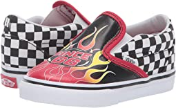 5bc1caa5ac (Race Flame) Black Racing Red True White. 75. Vans Kids. Classic Slip-On ...