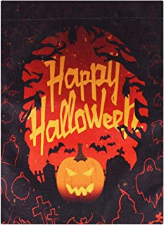 Toyvian Halloween Backdrop Halloween Wall Tapestry Wall Hanging Carpet Ornament Background Wall Art for Living Room Home Dorm