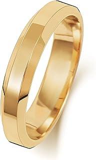 Anello Fede Nuziale Uomo/Donna 4mm in Oro giallo 9k (375) WJS189249KY