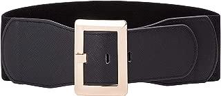 Hanna Nikole Women Plus Size Vintage Stretchy Wide Waist Cinch Belt