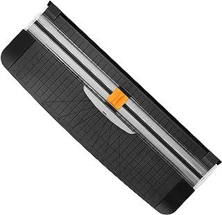 Cortador de papel, Guillotina para A4 de 12 pulgadas (30 cm) Herramienta para scrap-booking con protección de seguridad automática, para uso doméstico y profesional, tanto en casa como en la oficina