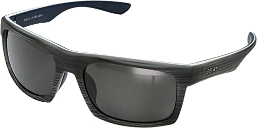 Grey Woodgrain w/ Polarized Dark Grey Lens