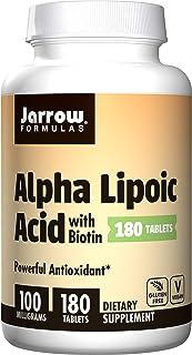 Jarrow Formulas Alpha Lipoic Acid, Powerful Antioxidant, 100mg, 180 tabs
