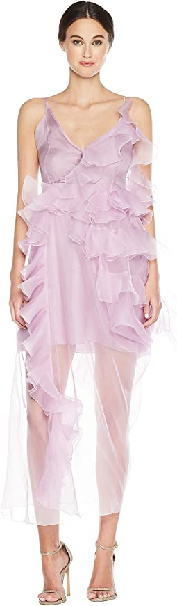 Preen by Thornton Bregazzi Veronique Dress w/ Jersey Slip