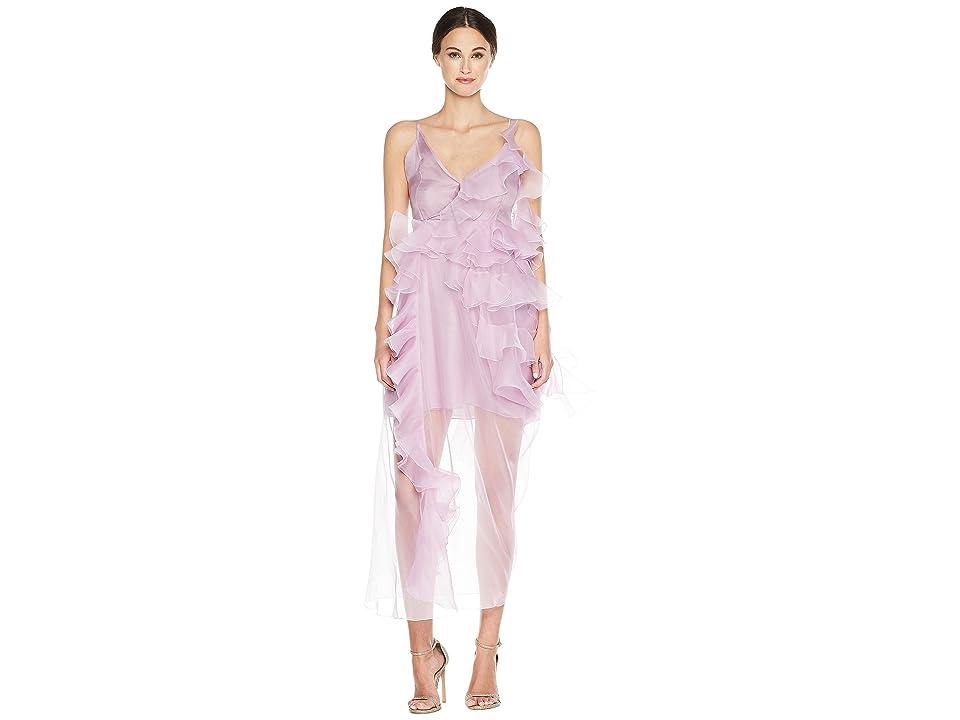Preen by Thornton Bregazzi Veronique Dress w/ Jersey Slip (Lilac) Women
