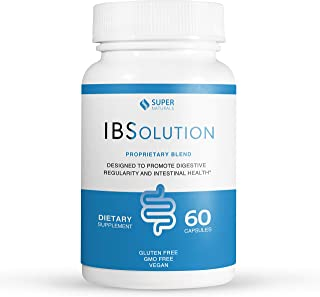 Sponsored Ad - All Natural IBS Relief by IBSolution - Made in USA, Non-GMO, Gluten Free & Vegan (60 Capsules) - for Sympto...