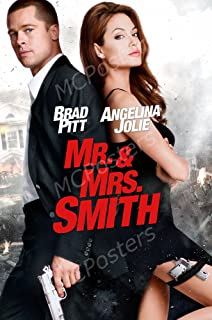 MCPosters Mr. and Mrs. Smith GLOSSY FINISH Movie Poster - MCP428 (24