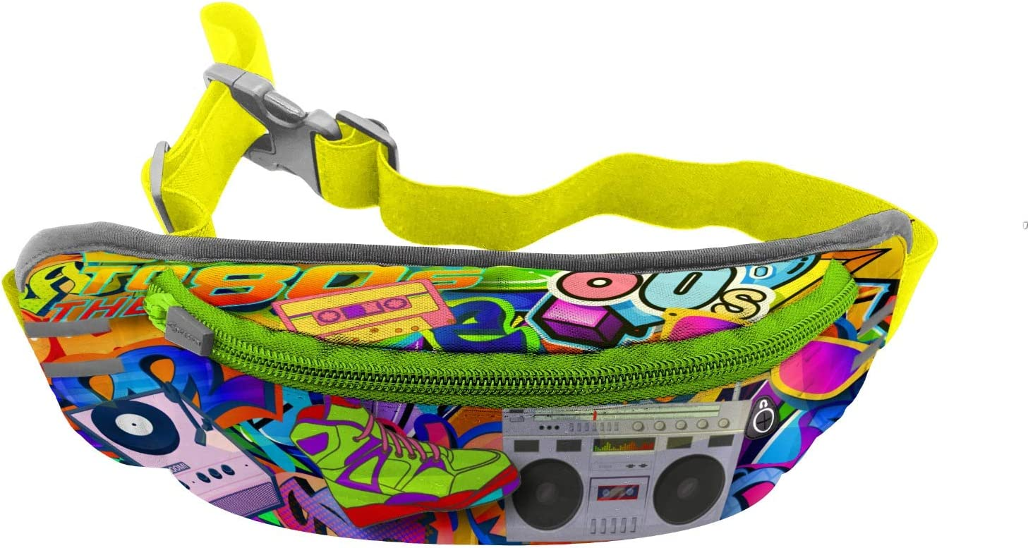 Retro 1980/'s Buttons Fanny Pack Swag