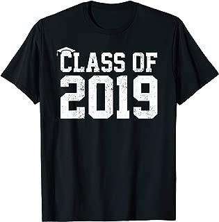 Class Of 2019 Graduation T-Shirt Senior High School College