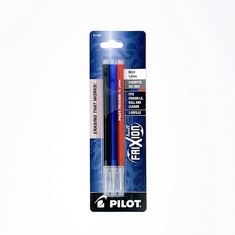 Baltimore Mall Brand Pilot FriXion San Jose Mall Ball Erasable Gel Refills Ink Bold 1.0mm P
