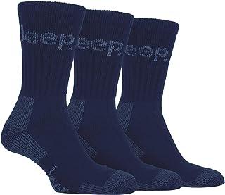 458168b8e8dd5 Mens ,3 Pair Luxury Jeep Terrain Walking Hiking Socks 6-11 uk, 39