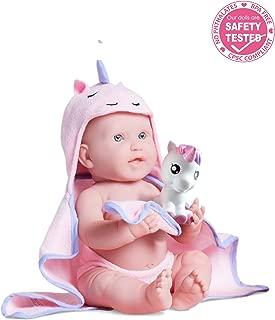 JC Toys Bubbles & Bath Girl Baby Doll, 17