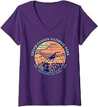 Womens Grand Canyon National Park Centennial Celebration Vacation V-Neck T-Shirt
