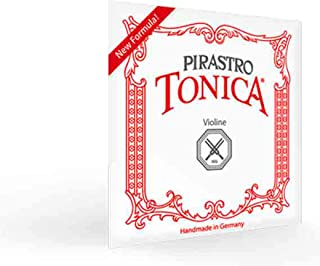 Pirastro TON412021 Tonica Violin Strings, Set, 4/4