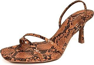 8e1e44d29d7 Zara Women Mid-Heel Sandals with Elastic Band Detail 2328 001