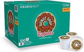The Original Donut Shop, Single-Serve K-Cup Pods, Medium Roast Coffee, 100 Count, 100 Count, Regular, 100 Count