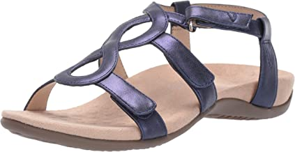 Vionic Women's Rest Jodie Sandal- Ladies Backstrap Sandals with Concealed Orthotic Arch Support