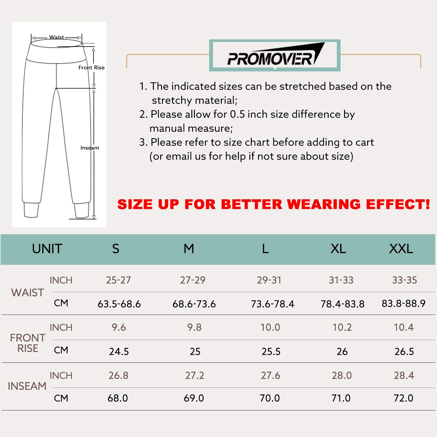 Promover Womens Joggers with Pockets Sweatpants Workout Running Yoga Jogger Pants High Waist Tapered Athletic Pants