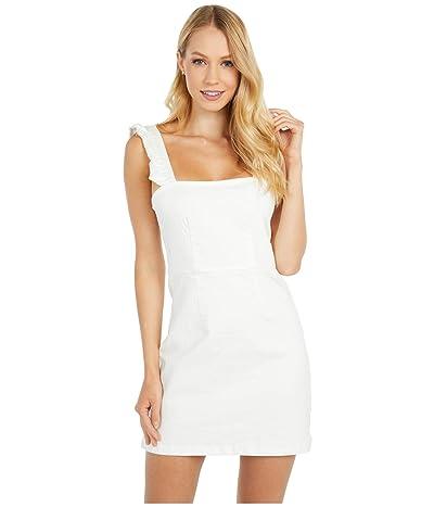Show Me Your Mumu Ruthie Ruffle Dress (Pearly White) Women
