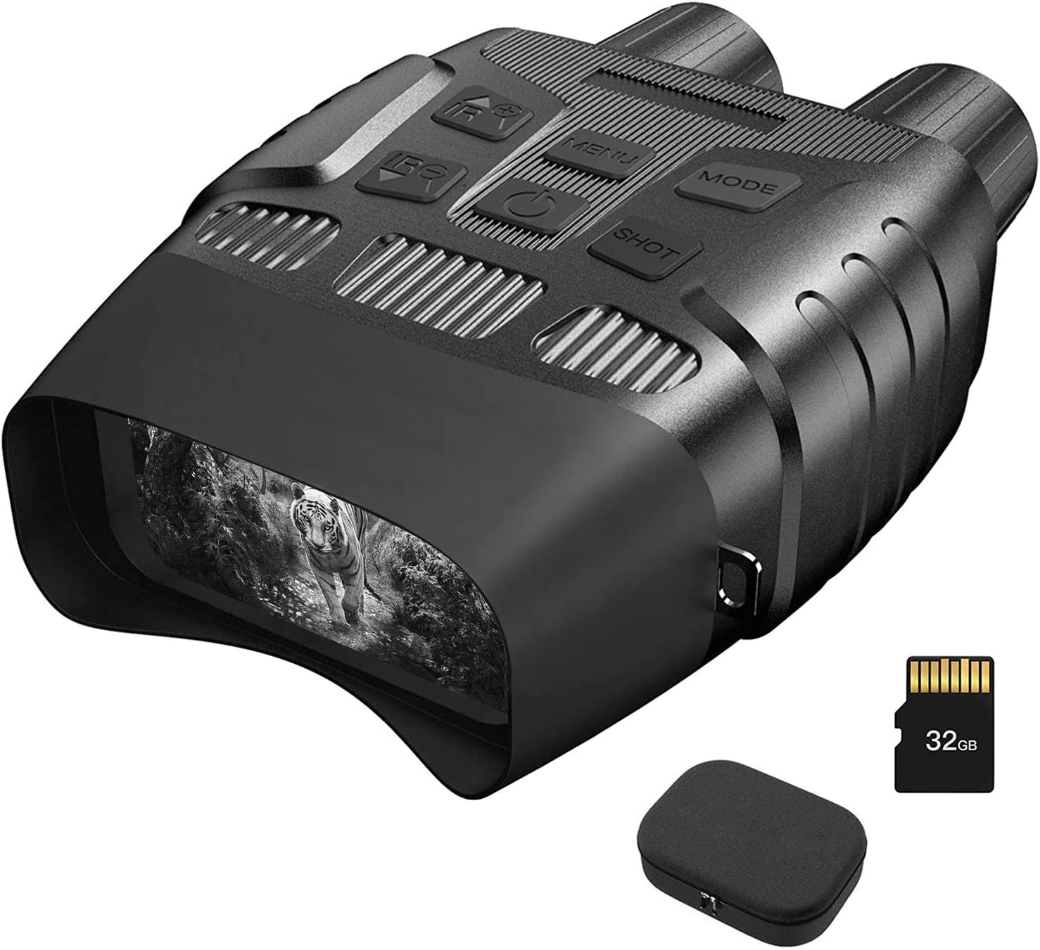 HEXEUM Night Vision Goggles Night Vision Binoculars for Adults - Digital Infrared Binoculars can Save Photo and Video with 32GB Memory Card