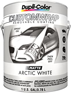 Duplicolor CWBG798 Custom Wrap Matte Arctic White 1 Gallon