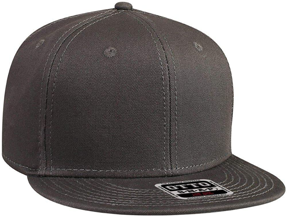 Otto Caps OTTO SNAP Cotton Twill Round 6 Panel Flat St Visor Max 56% sold out OFF Pro