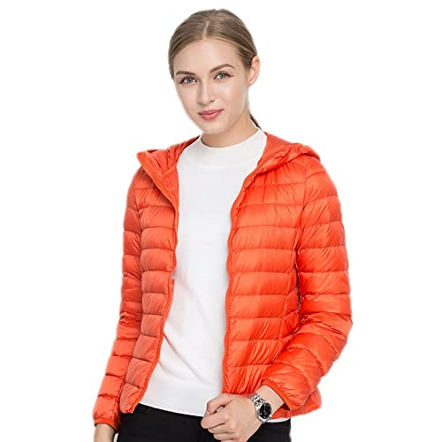 91a3a7b8ad4c Santimon Womens Hooded Down Jack Casual Packable Winter Short Lightweight  Jacket 18 Color Available