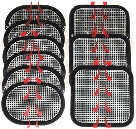 ノーブランド スレンダートーン対応 EMS互換交換パッド 3枚x3セット 合計9枚 (正面用 3枚 + 脇腹用6枚)