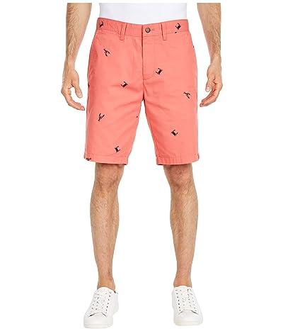 Nautica Crab Lobster Shorts (Orange) Men