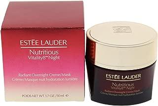 Estee Lauder Nutritious Vitality8 Night Radiant Overnight Creme/Mask, 1.7 Ounce