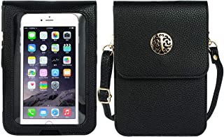 PUFER Mini Cell Phone Crossbody Bag Wallet Touch Screen Purse