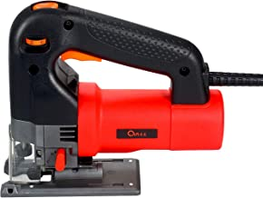 Gecheer Sierra de calar eléctrica 750W Sierra curvada eléctrica multifuncional Máquina de corte de sierra eléctrica para el hogar eléctrico portátil Herramienta de carpintería eléctrica