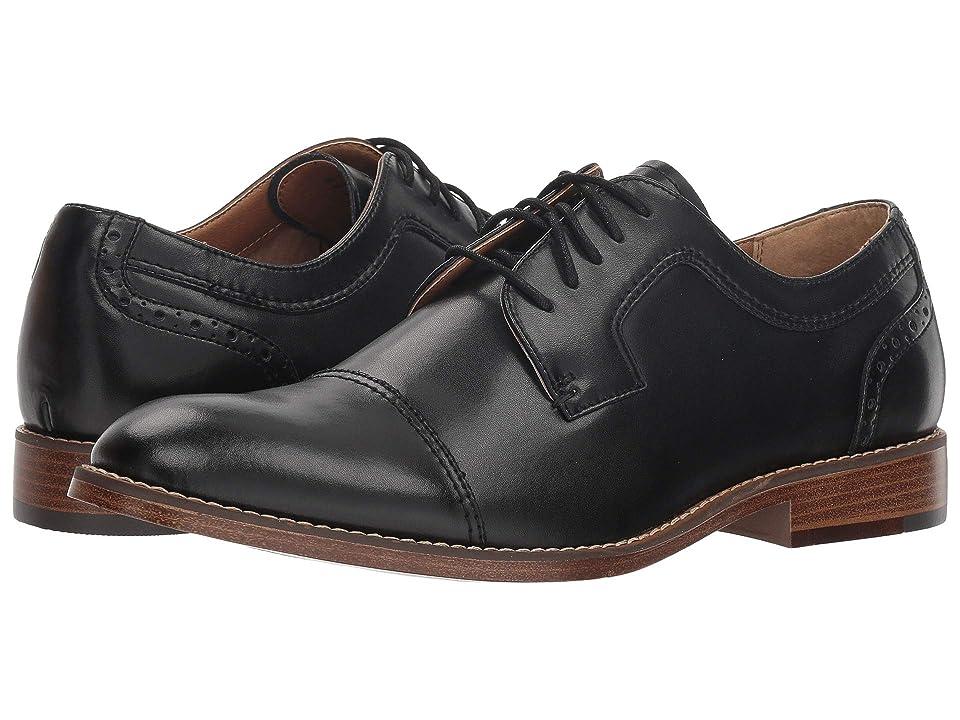 Dockers Rhodes (Black Polished Man-Made) Men