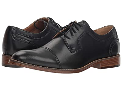Dockers Rhodes (Black Polished Man-Made) Men