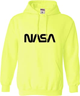 Go All Out Adult NASA Worm Logo Sweatshirt Hoodie