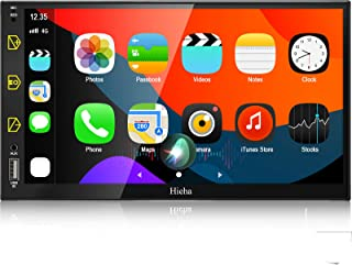 $169 » Hieha Double Din Car Stereo Compatible with Apple Carplay and Android Auto, 7 Inch Touch Screen Car Stereo, Car Radio with...