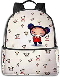 H-imiko T-oga Fr-om B-ha Multifunctional Backpack Women's and Men's School Bags ,Travel Hiking with Kettle Pocket Backpack