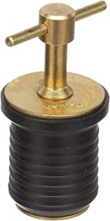 Attwood 7526A7 Brass Handle T-Handle Drain Plug