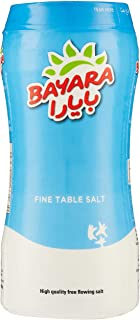 Bayara Fine Table Salt Bottle - 700 gm