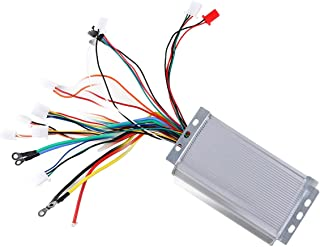 TDPRO 48V 1800W Electric Bicycle Brushless Speed Motor Controller for Electric Scooter e-Bike ATV Go Kart Tricycle Moped