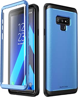 SUPCASE [UB Neo Series] Case for Samsung Galaxy Note 9, Full-Body Protective Dual Layer Armor Cover with Built-in Screen Protector for Samsung Galaxy Note 9 2018 (Blue)