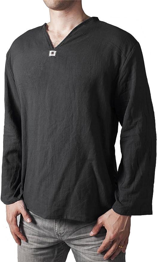702 opinioni per Lofbaz Uomo Thai T-Shirt Collo a V