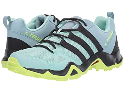 adidas Outdoor Kids Terrex AX2R (Little Kid/Big Kid) (Clear Mint/Carbon/Hi-Res Yellow) Girls Shoes