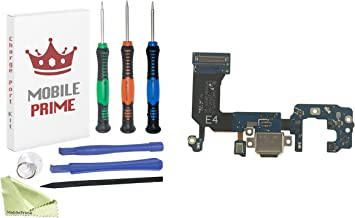 MobilePrime Charging Port Replacement Kit Compatible for Samsung Galaxy S8 (G950F) Including Pro-Series Repair Tools